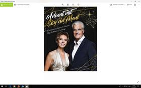 Weihnachtsprogramm Sky du Mont & Christine Schütze