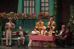 Bild: Das Dreimäderlhaus - mit dem Ensemble der Operettenbühne Wien