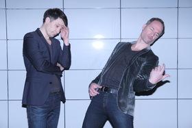 Bild: Friedberg lässt lesen: Maxim Leo & Jochen Gutsch