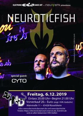 Bild: Neuroticfish - Gäste: CYTO