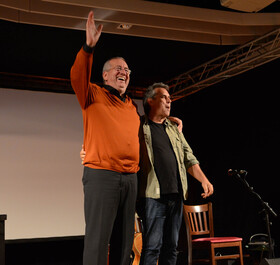 Bild: Friedberg lässt lesen: Werner Reinke & Biber Herrmann