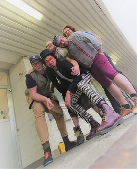 """Kellerkommando / von 22.04. auf 18.09.20 verlegt - """"360 Grad Schleudergang - Tour 2019 // Support: Cobra Express"""