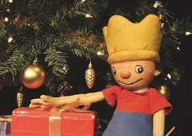 Bild: Der kleine König feiert Weihnachten - Marotte Figurentheater
