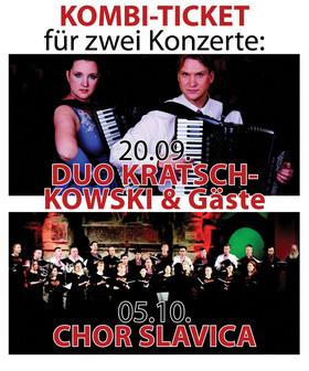 Bild: KOMBI TICKET für beide Konzerte 20.09. und 05.10.