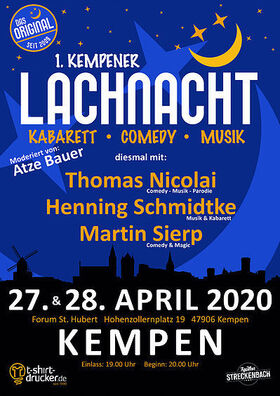 Bild: Lachnacht - Atze Bauer
