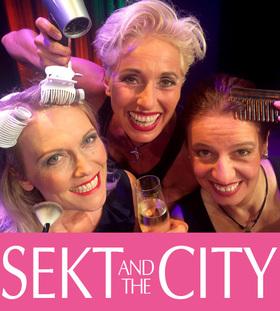 Bild: Sekt and the City - FriSCH geFöHNt & FLaCH gelegt!