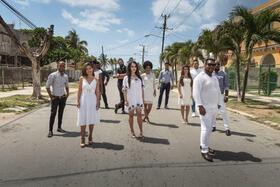 Bild: Coro Gospel de Cuba - in Stralsund im Konzert mit