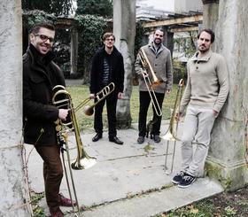 """Bild: Vertigo Trombone Quartet (Schweiz) - """"The Good Life"""""""
