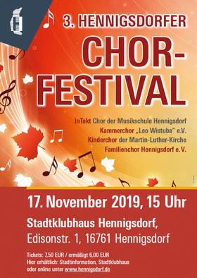 Bild: 3. Hennigsdorfer Chorfestival