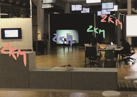 Bild: Augmented Reality mit Artivive - Workshop mit dem ZKM