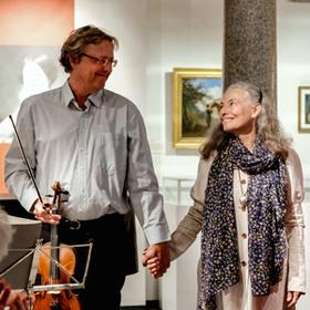 Bild: Und fremd war er auch in seiner Zärtlichkeit mit Blanche Kommerell
