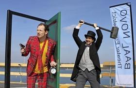 Bild: Zwei Genies am Rande des Wahnsinns (Baal novo Theater Eurodistrict)