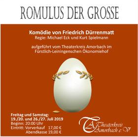 Bild: Romulus der Grosse (Freilichtaufführung) - Theaterkreis Amorbach e.V.