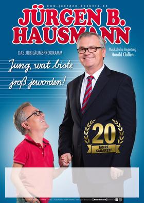 Bild: Jürgen B. Hausmann - Jung, wat biste jroß jeworden!