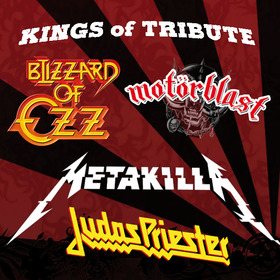 Bild: Kings of Tribute - Blizzard Of Ozz, Motörblast, Metakilla & Judas Priester - Kings of Tribute