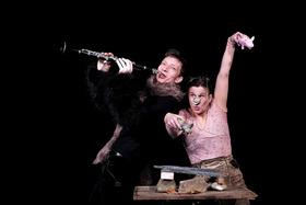 Bild: Drei kleine Schweinchen - Kranewit Theater