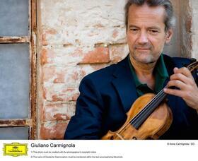 Bild: Heidelberger Sinfoniker und Giuliano Carmignola: Haydn und Mozart