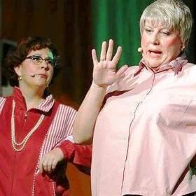 Bild: Mir mache Sie fit- Comedy mit Margot unn die Dande