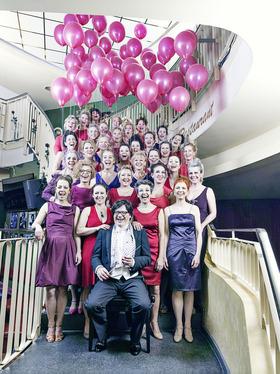 24. A-cappella-Festival: DamenLikörChor - Singendes Bühnenbild