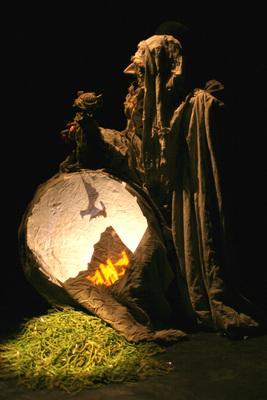 Bild: Der Hobbit - Oder: Dorthin und wieder zurück - Figurentheater Wilde&Vogel
