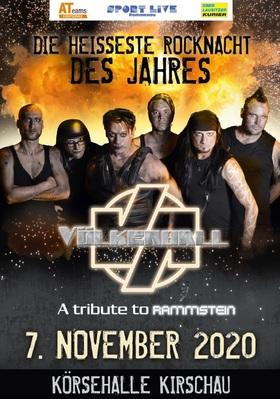Bild: Völkerball - a tribute to Rammstein - präsentiert von ATeams und dem Sportlive Rammenau