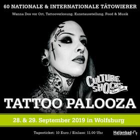 Bild: Tattoo Palooza 2019 - Das Tattoo- und Kulturevent in Wolfsburg