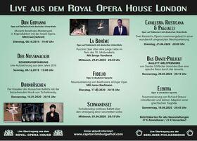 Bild: La Bohème - Royal Opera House - Liveübertragung