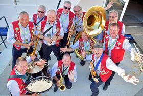 Bild: Konzert mit der Lamarotte Jazzband - Jazz in der JohannStadthalle
