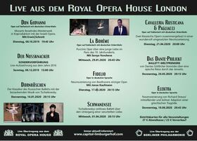 Bild: Cavalleria Rusticana & Pagliacci, Der Bajazzo - Royal Opera House London - Liveübertragung
