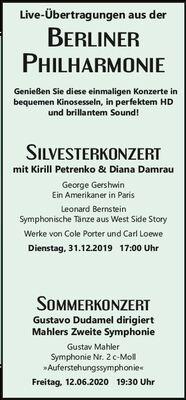 Bild: Berliner Philharmoniker