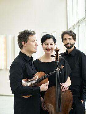 Bild: Berlin Piano Trio - Krysztof Polonek, Violine; Katarzyna Polonek, Violoncello; Nikolaus Resa, Klavier