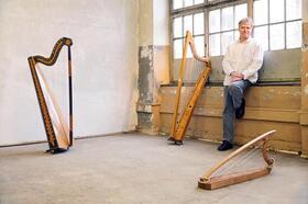 Bild: Von Mönchen, Barden und Elfen - Melodien und Mythen der keltischen Harfe mit Tom Daun