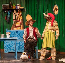 Bild: Pippi feiert Weihnachten - nach Astrid Lindgren