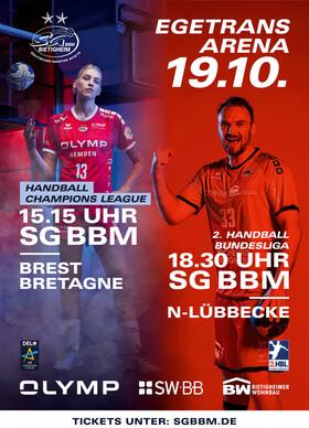 Bild: SG BBM Bietigheim vs. TuS N-Lübbecke