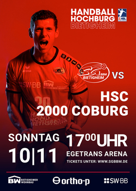 Bild: SG BBM Bietigheim vs. HSC 2000 Coburg