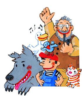 Familienkonzert: PETER UND DER WOLF für die Größeren