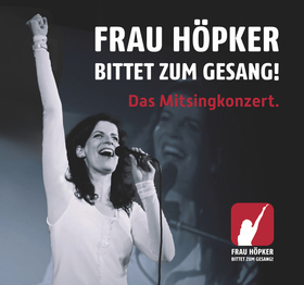 Bild: Frau Höpker - ... bittet zum Gesang