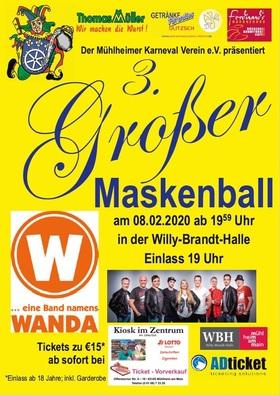 3. Großer Maskenball des MKV e.V. - Eine Band namens Wanda