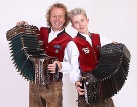 Bild: Jens & Paul - Volksmusik aus dem Erzgebirge - Woche der Volksmusik -  Schönblick, Schwäbisch Gmünd