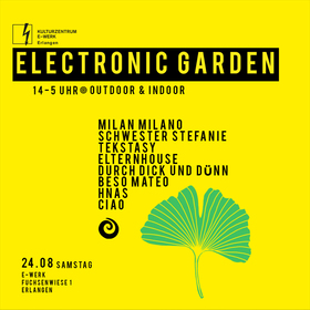 Bild: Electronic Garden Erlangen – Techno Open Air
