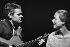 Bild: Feeling the Same Way - Karolin Leucht, Gesang; Marcel Walter, Gitarre