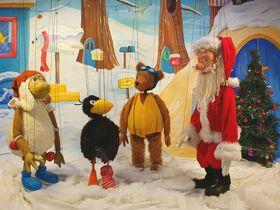 Bild: Weihnachten mit dem kleinen Raben Socke - Marionettentheater Stromboli