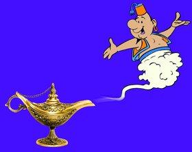 Bild: Aladin und die Wunderlampe - Der beliebte Märchenklassiker aus 1001 Nacht in einer liebevollen Bearbeitung mit viel Spaß und Musik für Kinder und die ganze F