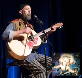 Dave Mackey - Interstellar Elephant Baby Tour 2020 - zurück im Art Stalker Berlin