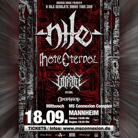 Bild: Nile - A Vile Desolate Sands Tour 2019