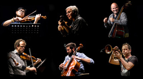 Bild: Sirius Quartet feat. Veit Hübner & Joo Kraus (USA/D)