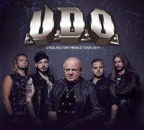 Bild: U.D.O. - Steelfactory World Tour 2019