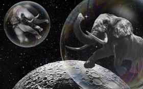 Bild: Satelliten am Nachthimmel // 10+ Jahren