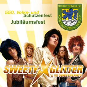 Bild: Sweety Glitter & The Sweethearts - Jubiläumsfest - 550 Jahre Schützengilde Königslutter v. 1470 e.V.
