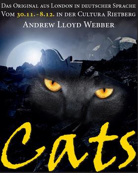 Bild: CATS - Andrew Lloyd Webber - Das Sparkassen-Weihnachtsmusical